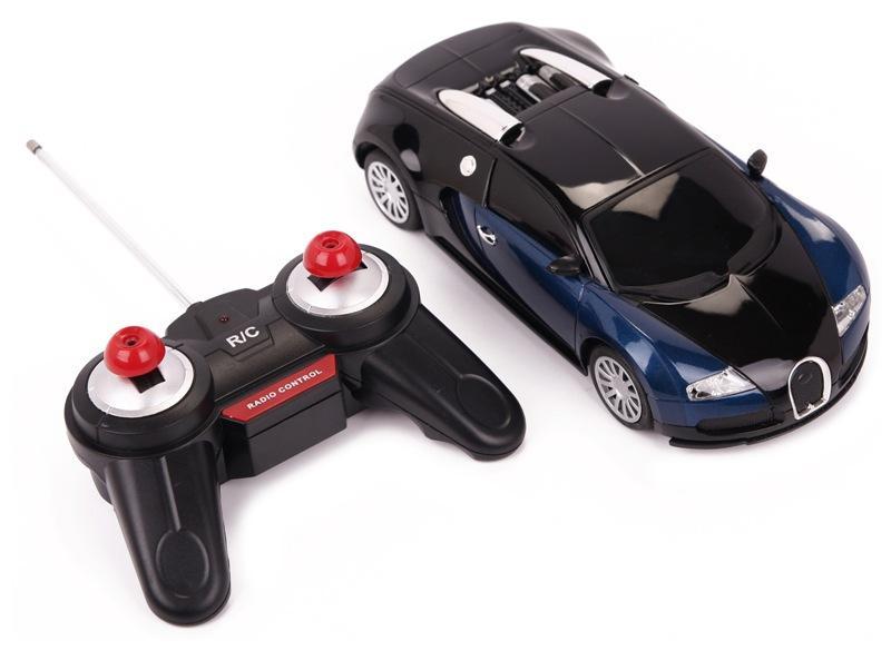 zdalnie sterowany samoch d bugatti veyron 1 24 licencja sendgroup. Black Bedroom Furniture Sets. Home Design Ideas
