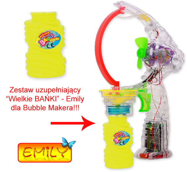 Zabawy z Bubble Makerem