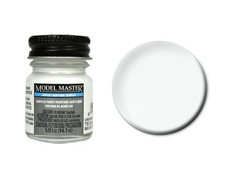 Farba Model Master 4873 - Acryl Reefer White (F) 14.7ml