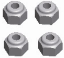 Wltoys Anti Loose Nut 12428-0118 12423-0118
