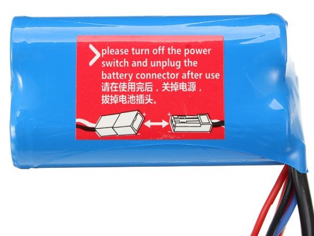 Wltoys 7.4V 1500mAh Battery 12428-0123 12423-0123 Pakiet Akumulator Bateria
