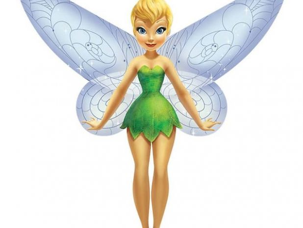 Latawiec BRAINSTORM - WNS Skypals Disney 32'' Nylon Tinker Bell