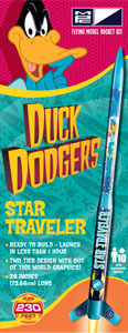 Rakieta - Looney Tunes Duck Dodgers Star Traveler