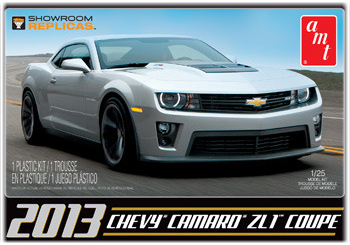 Model Plastikowy Do Sklejania AMT (USA) - 2013  Chevy Camaro ZL-1 Showroom Replic