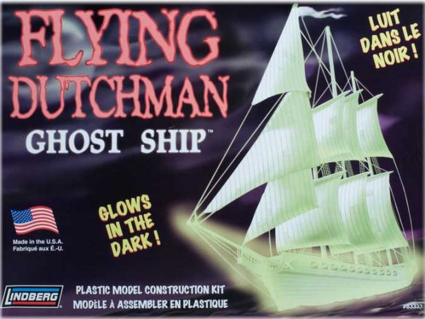 Model Plastikowy Do Sklejania Lindberg (USA) - Flying Dutchman Ghost Ship