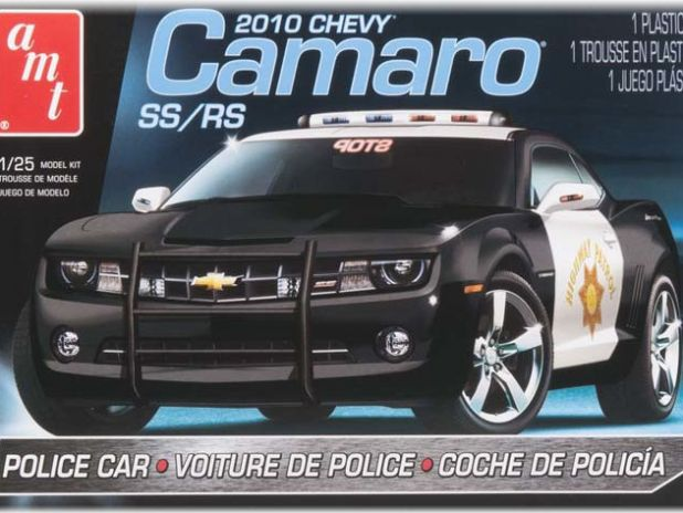 Model Plastikowy Do Sklejania AMT (USA) - 2010 Camaro Police Car