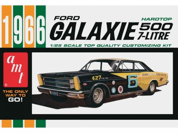 Model plastikowy AMT - 1966 Ford Galaxie