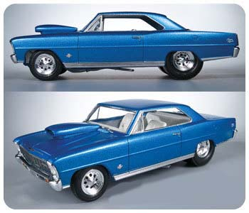 Model Plastikowy Do Sklejania AMT (USA) - 1966 Chevy Nova Pro Street