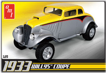 Model Plastikowy Do Sklejania AMT (USA) - 1933 Willys Coupe