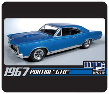 Model Plastikowy Do Sklejania MPC (USA) - 1967 Pontiac GTO