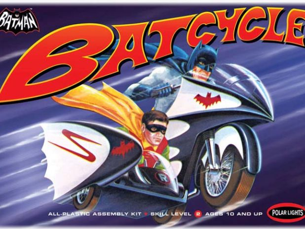 Model Plastikowy Do Sklejania Polar Lights (USA) - Batman 1966 Batcycle