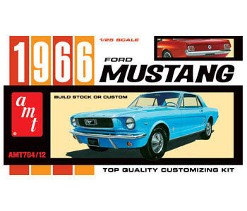 Model Plastikowy Do Sklejania AMT (USA) - 1966 Ford Mustang