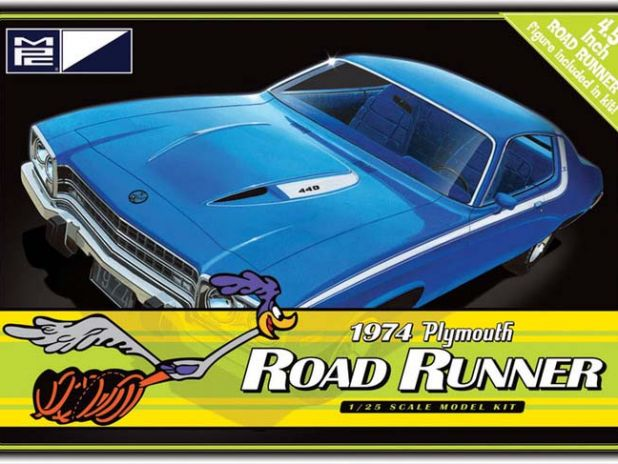Model Plastikowy Do Sklejania MPC (USA) - 1974 Plymouth Road Runner
