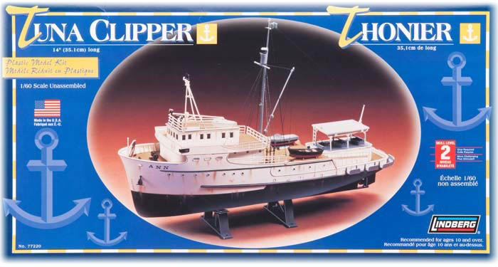 Model plastikowy Lindberg - Łódź Tuna Clipper