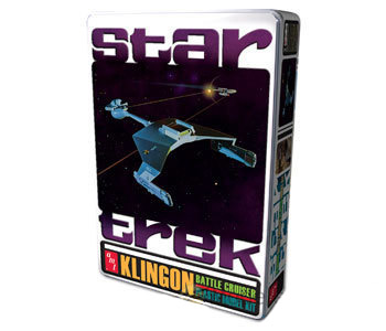Model Plastikowy Do Sklejania AMT (USA) - Star Trek Klingon Cruiser Spec Edition