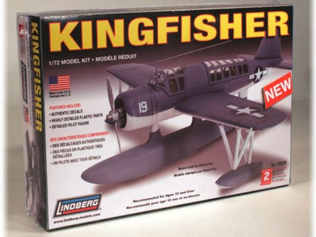 Model Plastikowy Do Sklejania Lindberg (USA) Wodolot King Fisher