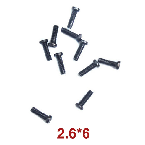 Round Head Self-Drilling Screw 2.6x6 Wl Toys A949-38