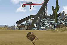 Funkcja Heli-Grapple (helikopter-dźwig)