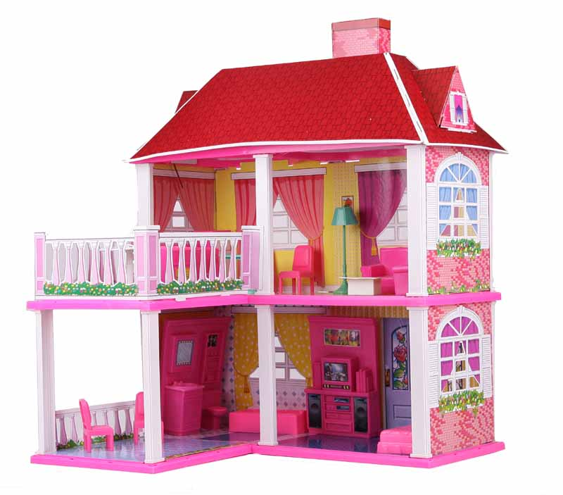 Sk adany ogromny domek dla lalek my lovely villa for My villa