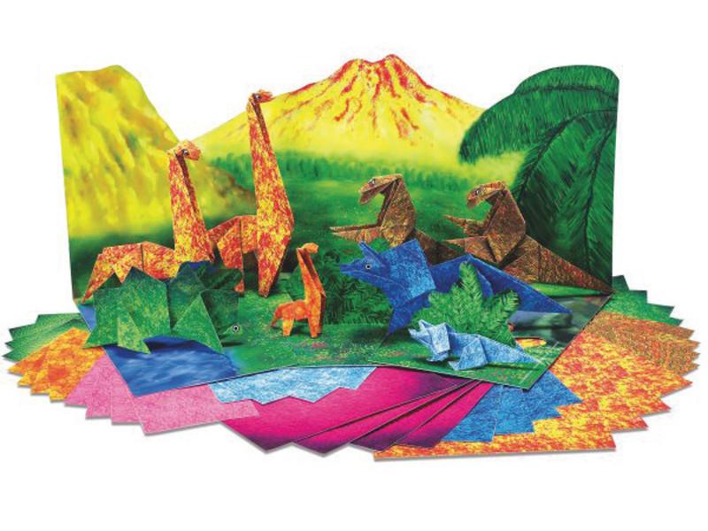 Origami Dinozaury