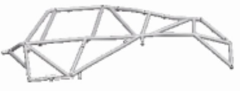 Wltoys Left Roll cage Left Anti-Roll Bar 12428-0049 Lewy Element Obudowy