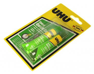 Klej Epoksydowy Epoxy Quick Set UHU 2x10 ml blister
