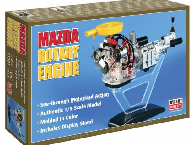 Model plastikowy - Silnik Mazda - Visible Rotary Engine - Minicraft