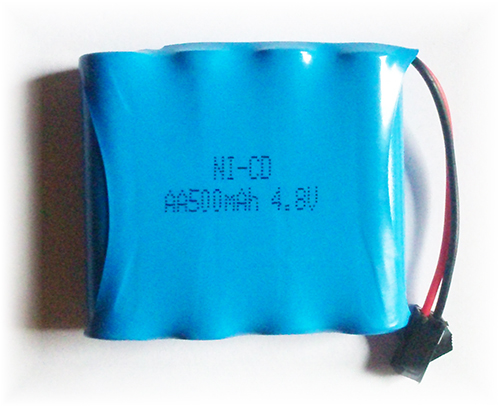 Akumulator Pakiet Ni-Cd AA 500mAh 4,8V