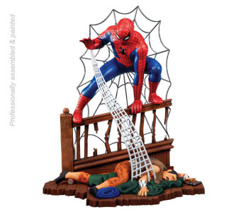 Model Plastikowy Do Sklejania Polar Lights (USA) Figurka SPIDER-MAN