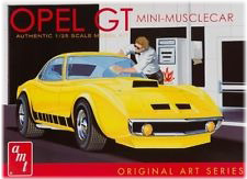 Model Plastikowy Do Sklejania AMT (USA) - Buick Opel GT Original Art Series (Żółty)