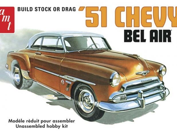 Model plastikowy AMT - 1951 Chevy Bel Air
