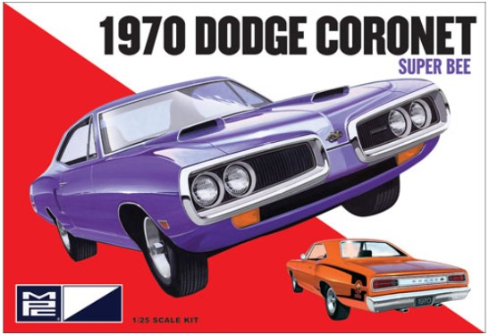 Model plastikowy - 1970 Dodge Coronet Super Bee 1:25 - MPC