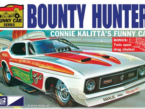 Model Plastikowy Do Sklejania MPC (USA)- Connie Kalitta 1972  Mustang Funny Car Bounty Hunter
