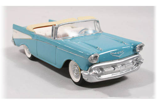 Model Plastikowy Do Sklejania Lindberg (USA) - 1957 Chevy Ragtop